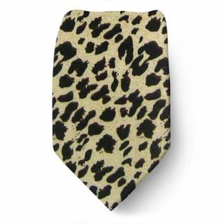 Boys Leopard Tie Ties