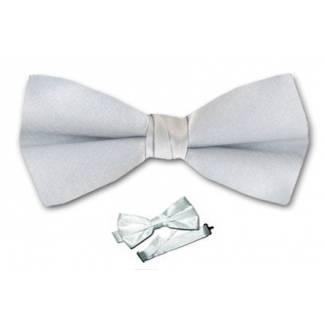 Boys Silver Bow Tie