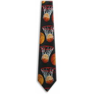 Basketball Tie Sports Ties