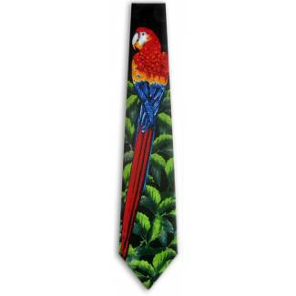 Parrot Tie Animal Ties