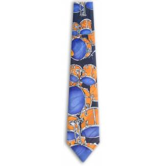 Drums Tie Music Ties
