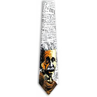 Albert Einstein Tie Famous People Ties
