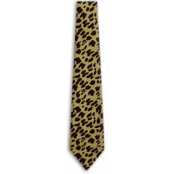 Leopard Print Tie Animal Ties