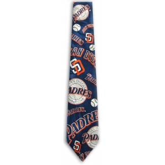 MLB Padres Tie Sports Ties