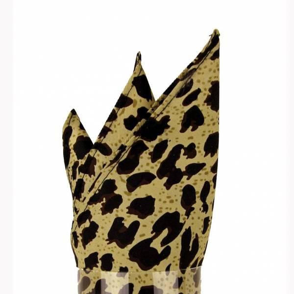 Leopard Pocket Square