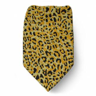 CHEETAH Extra Long Tie