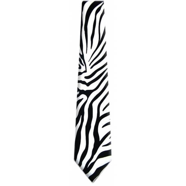Zebra Print Tie Animal Ties