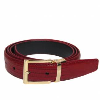 Lizard Skin Belt Mens